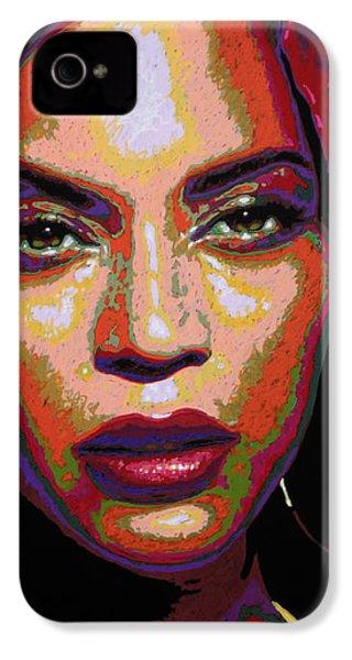 Beyonce IPhone 4 / 4s Case by Maria Arango