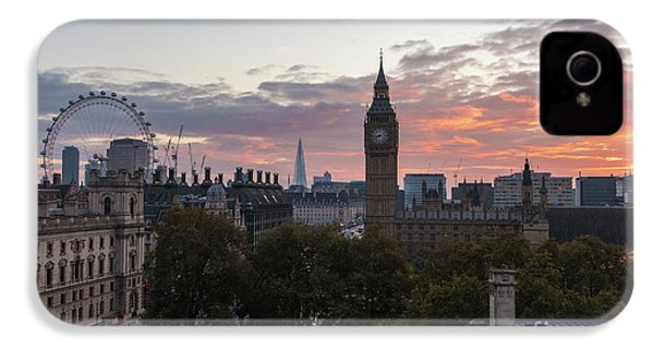 Big Ben London Sunrise IPhone 4 / 4s Case by Mike Reid