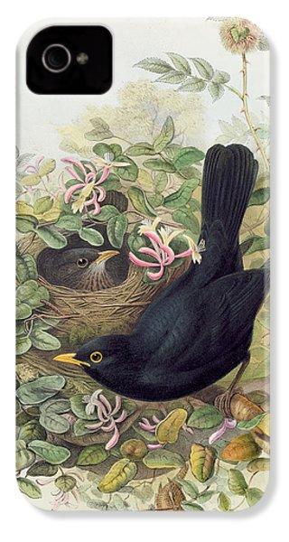 Blackbird,  IPhone 4 / 4s Case by John Gould