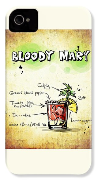 Bloody Mary IPhone 4 / 4s Case by Movie Poster Prints