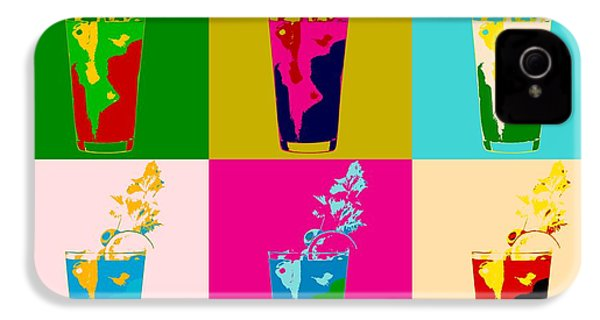 Bloody Mary Pop Art Panels IPhone 4 / 4s Case by Dan Sproul