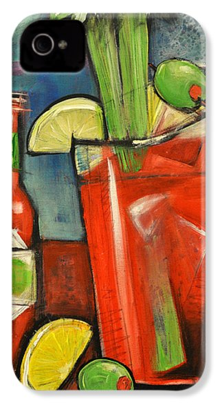 Bloody Mary IPhone 4 / 4s Case by Tim Nyberg