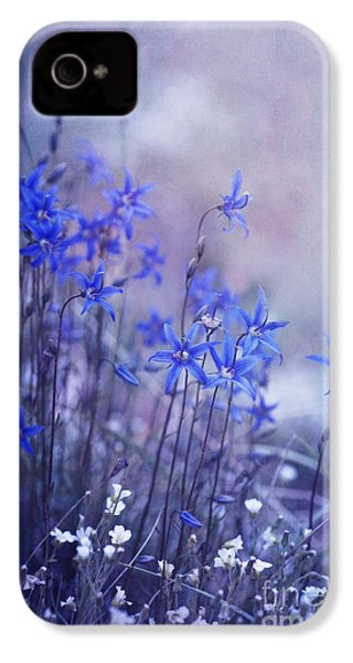 Bluebell Heaven IPhone 4 / 4s Case by Priska Wettstein