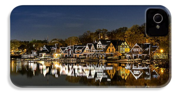 Boathouse Row IPhone 4 / 4s Case by John Greim