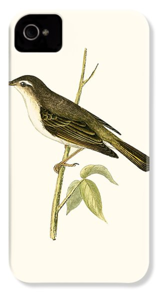 Bonelli's Warbler IPhone 4 / 4s Case by English School