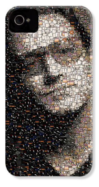 Bono U2 Albums Mosaic IPhone 4 / 4s Case by Paul Van Scott
