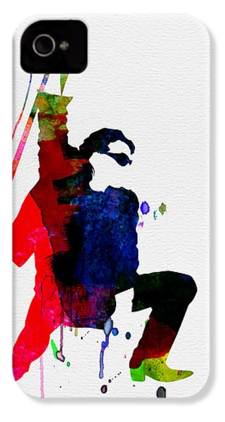 Bono Watercolor IPhone 4 / 4s Case by Naxart Studio