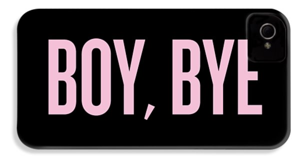 Boy, Bye IPhone 4 / 4s Case by Randi Fayat