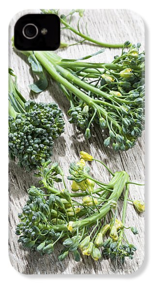 Broccoli Florets IPhone 4 / 4s Case by Elena Elisseeva