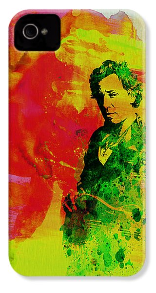 Bruce Springsteen IPhone 4 / 4s Case by Naxart Studio