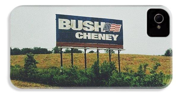 Bush Cheney 2011 IPhone 4 / 4s Case by Dylan Murphy