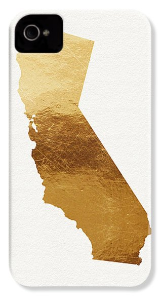 California Gold- Art By Linda Woods IPhone 4 / 4s Case by Linda Woods