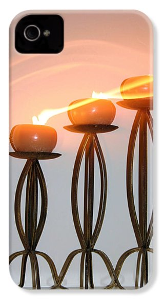 Candles In The Wind IPhone 4 / 4s Case by Kristin Elmquist