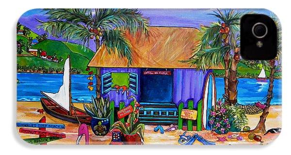 Cara's Island Time IPhone 4 / 4s Case by Patti Schermerhorn