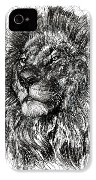 Cecil The Lion IPhone 4 / 4s Case by Michael  Volpicelli