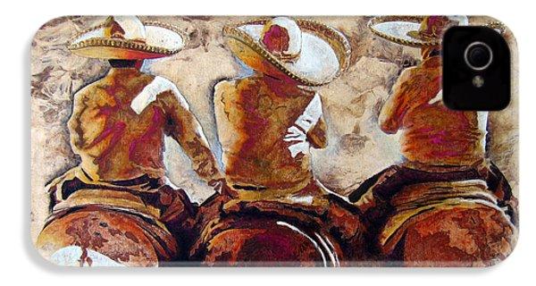 Charros IPhone 4 / 4s Case by Jose Espinoza