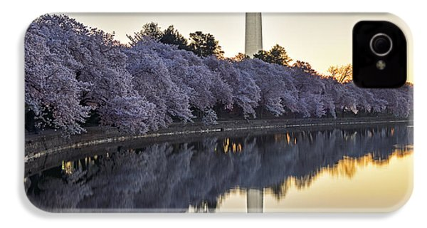 Cherry Blossom Festival - Washington Dc IPhone 4 / 4s Case by Brendan Reals