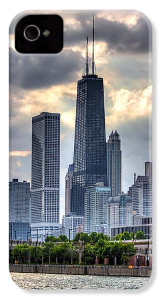 Chicago From The Pier IPhone 4 / 4s Case by Joshua Ball