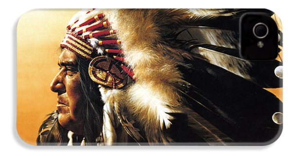 Chief IPhone 4 / 4s Case by Greg Olsen