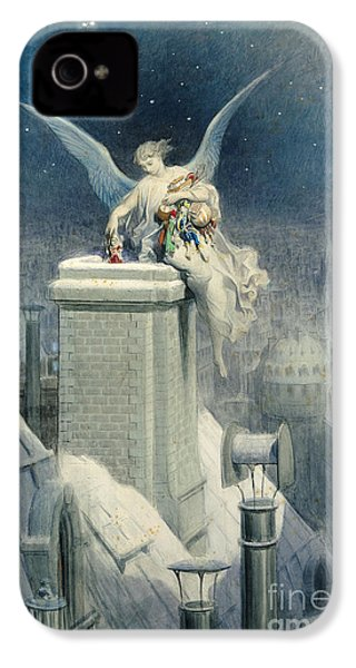 Christmas Eve IPhone 4 / 4s Case by Gustave Dore