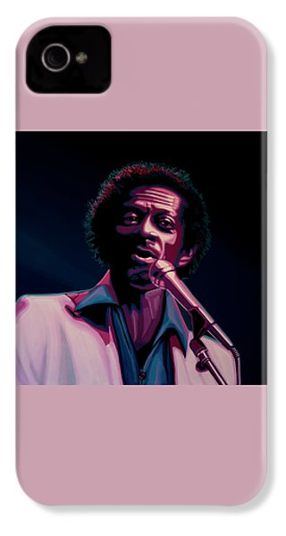 Chuck Berry IPhone 4 / 4s Case by Paul Meijering