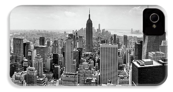 Classic New York  IPhone 4 / 4s Case by Az Jackson