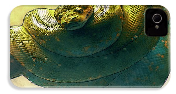 Coiled IPhone 4 / 4s Case by Jack Zulli