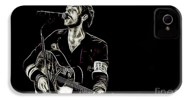 Coldplay Collection Chris Martin IPhone 4 / 4s Case by Marvin Blaine