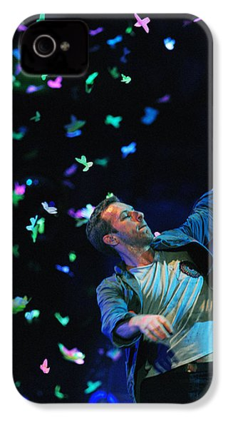 Coldplay1 IPhone 4 / 4s Case by Rafa Rivas