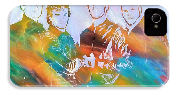 Colorful Coldplay IPhone 4 / 4s Case by Dan Sproul