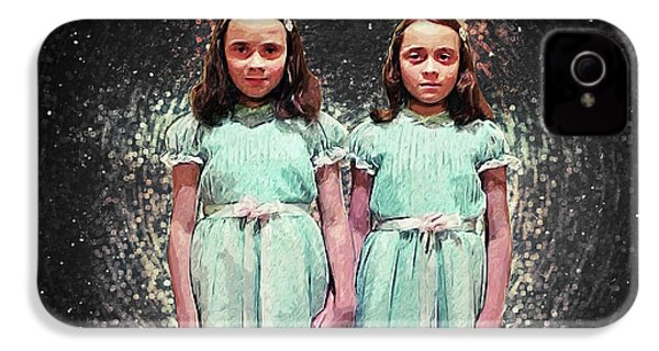 Come Play With Us - The Shining Twins IPhone 4 / 4s Case by Taylan Apukovska