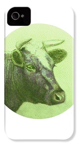 Cow II IPhone 4 / 4s Case by Desiree Warren