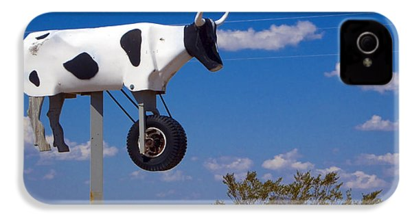 Cow Power IPhone 4 / 4s Case by Skip Hunt