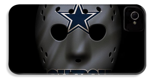 Cowboys War Mask 2 IPhone 4 / 4s Case by Joe Hamilton