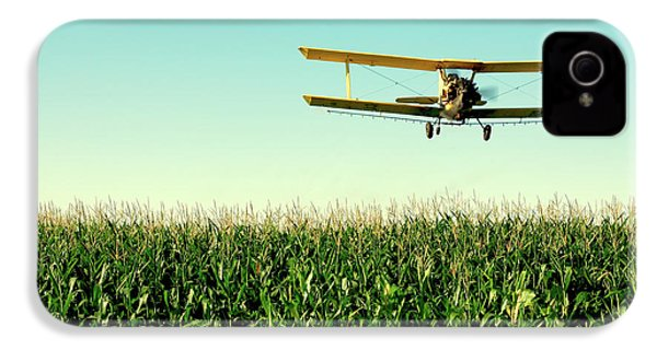 Crops Dusted IPhone 4 / 4s Case by Todd Klassy