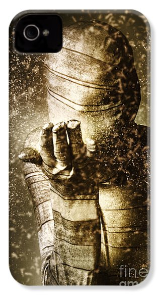 Curse Of The Mummy IPhone 4 / 4s Case by Jorgo Photography - Wall Art Gallery
