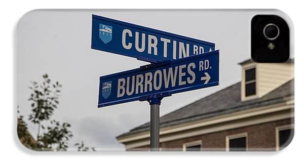 Curtin And Burrowes Penn State  IPhone 4 / 4s Case by John McGraw