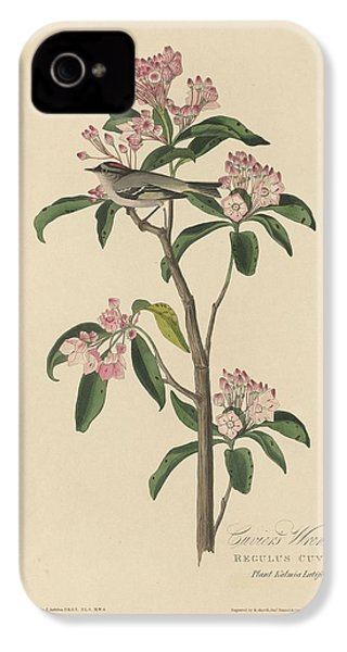 Cuvier's Wren IPhone 4 / 4s Case by John James Audubon