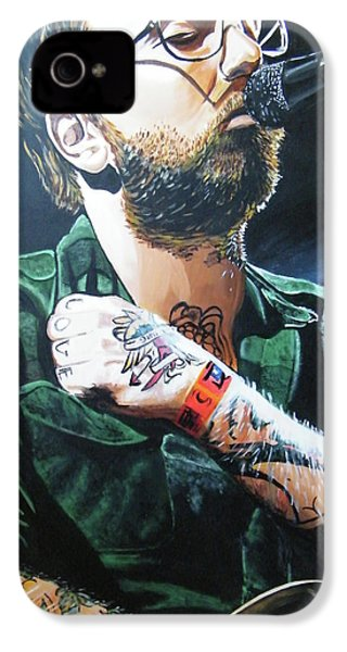 Dallas Green IPhone 4 / 4s Case by Aaron Joseph Gutierrez