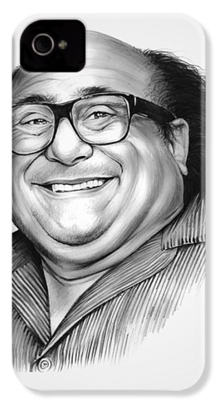Danny Devito IPhone 4 / 4s Case by Greg Joens