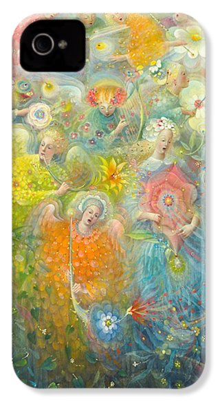 Daydream After The Music Of Max Reger IPhone 4 / 4s Case by Annael Anelia Pavlova