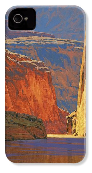 Deep In The Canyon IPhone 4 / 4s Case by Cody DeLong