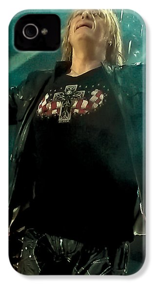 Def Lappard's Joe Elliott IPhone 4 / 4s Case by David Patterson