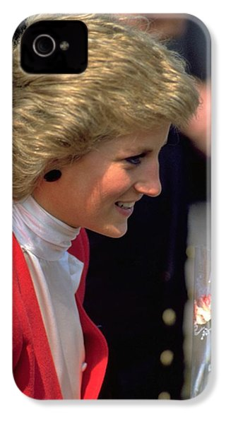 IPhone 4 / 4s Case featuring the photograph Diana Princess Of Wales by Travel Pics