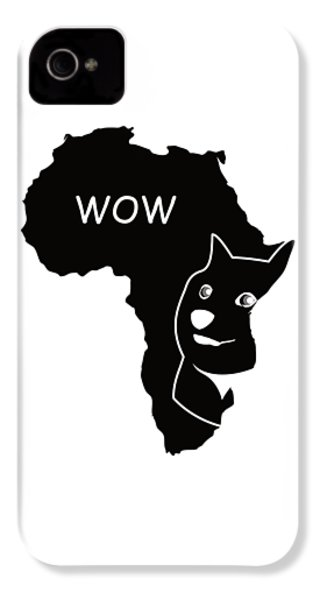 Dogecoin In Africa IPhone 4 / 4s Case by Michael Jordan