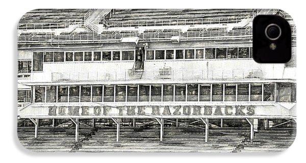 Donald W. Reynolds Razorback Stadium IPhone 4 / 4s Case by JC Findley