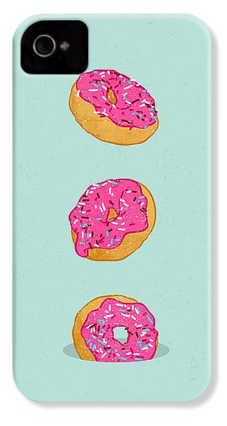 Doughnuts IPhone 4 / 4s Case by Evgenia Chuvardina