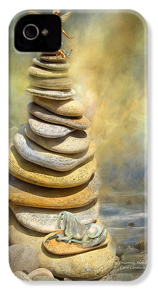 Dreaming Stones IPhone 4 / 4s Case by Carol Cavalaris