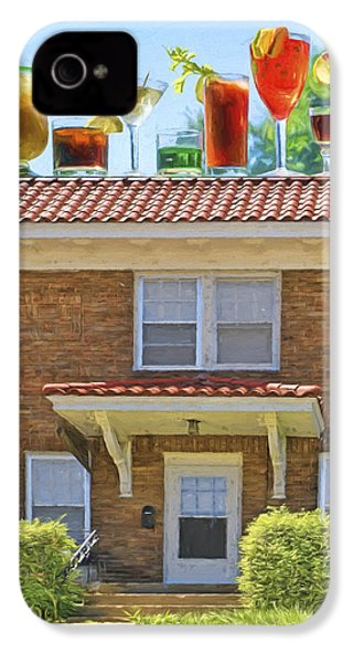 Drinks On The House IPhone 4 / 4s Case by Nikolyn McDonald