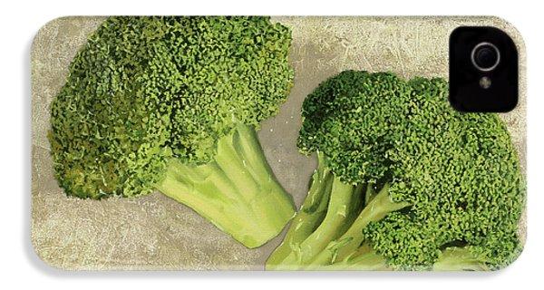 Due Broccoletti IPhone 4 / 4s Case by Guido Borelli